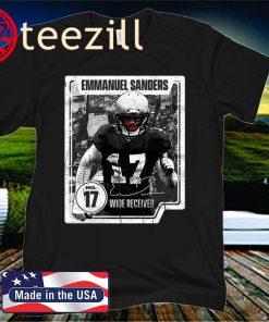 Emmanuel Sanders Card 2020 Shirt