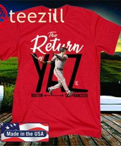 Mike Yastrzemski Yaz Boston San Francisco T Shirt