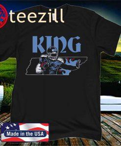 Nashville Football King of Tennessee T-Shirt