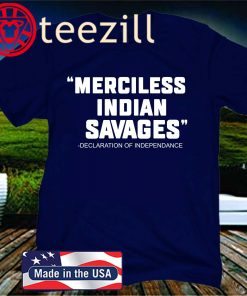 Official Merciless Indian Savages T-Shirt
