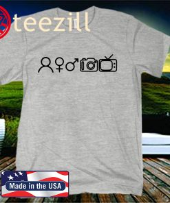 Person Woman Man Camera TV T-Shirt, Liberal T-Shirt, Democrat TShirt