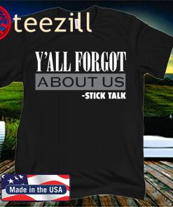 Tim Anderson Y'all Forgot About Us T-Shirt - MLBPA Licensed
