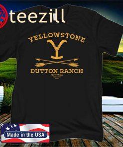 Yellowstone Dutton Ranch Arrows Official T-Shirt