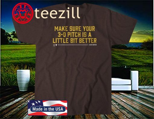 3-0 Pitch T-Shirt, San Diego Baseball