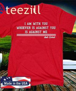 Amir Garrett I Am With You T-Shirt - MLBPA Licensed