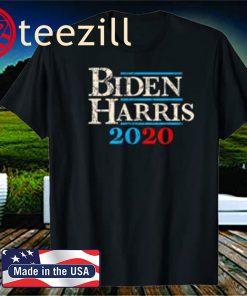 Biden Harris 2020 Shirt Vintage Joe Biden Kamala Harris For President 2020 Election Democratic Party Democrat Tshirt