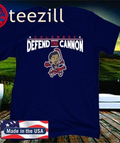 Defend the Cannon T-Shirt - Licensed by Zach Werenski