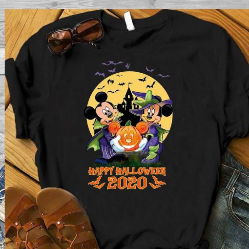 Disney Halloween shirt Mickey and Minnie Happy Halloween 2020 Disney Shirt