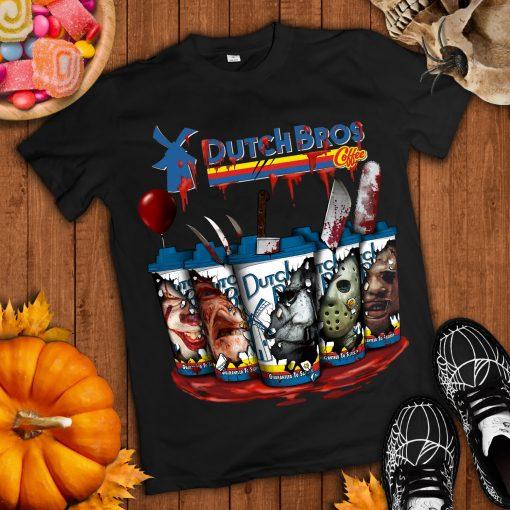 Dutch Bros Coffee Horror Halloween 2020 Tshirt