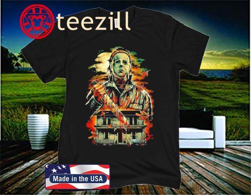 Halloween Horror Film Michael Myers Premium T-Shirt