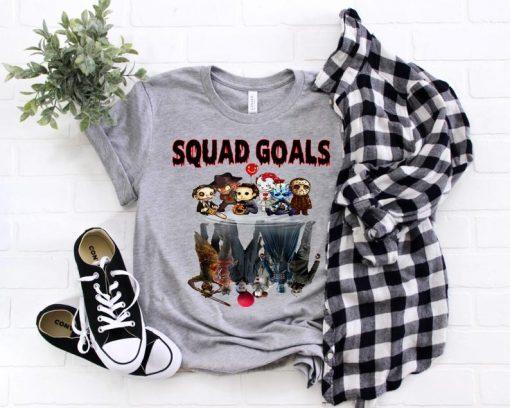 Halloween Horror Friends Shirt, Halloween Squad Shirt, Halloween 2020 Shirt, Unisex Halloween Tee