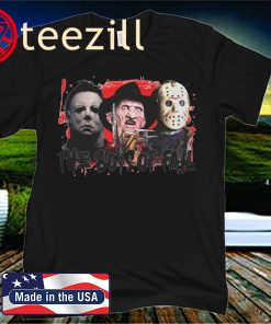 Halloween horror characters the boys of fall classic t-shirt