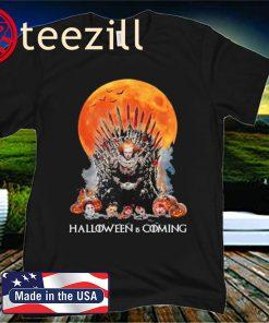 Jason Voorhees Halloween Is Coming GOT Primium Shirt