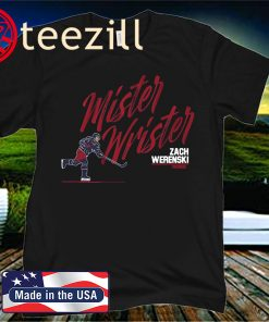 Mister Wrister T-Shirt Columbus - Licensed by Zach Werenski