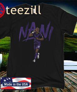 Nani Shirt Orlando Soccer - MLSPA Licensed
