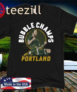 Portland Bubble Champs 2020 Shirt - MLSPA Licensed