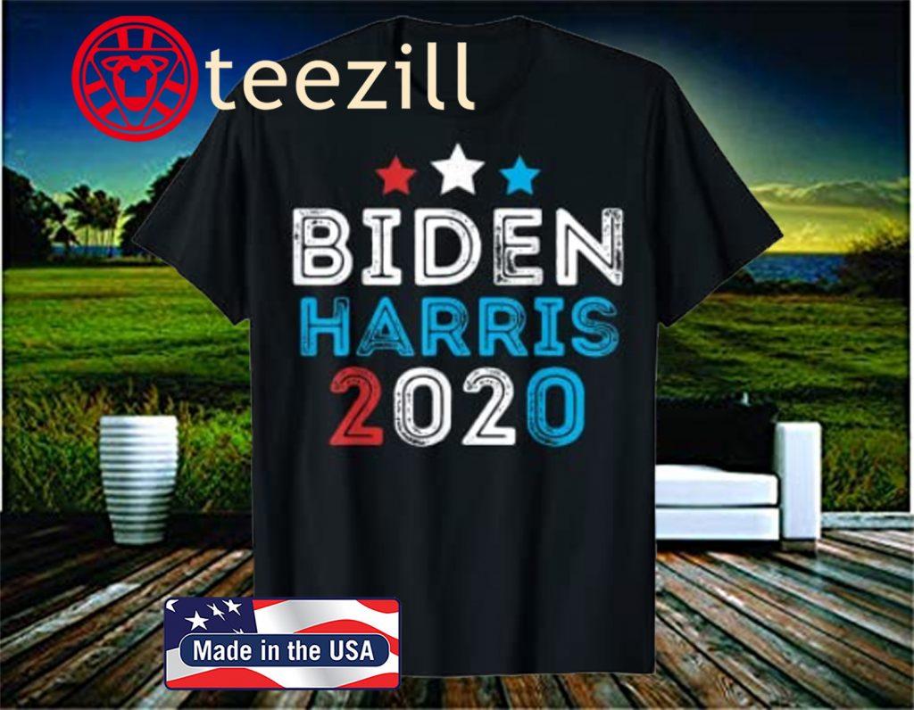 Retro Biden Harris 2020 Joe Biden Kamala Harris 2020 T Shirt Teezill