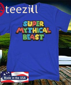 SUPER MYTHICAL BEAST OFFICIAL T-SHIRT