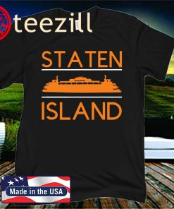 Staten Island Ferry- The Fifth Borough NYC Shirt