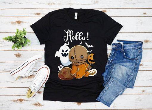 Trick r Treat Funny Cute Sam Halloween 2020 Costume Shirt