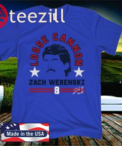 Zach Werenski Columbus Shirt