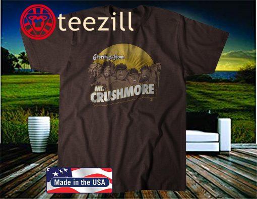 Mt. Crushmore T-Shirt, San Diego Baseball - MLBPA Licensed