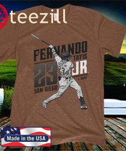 OFFICIAL FERNANDO TATIS JR. MLBPA T SHIRT