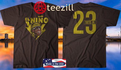 Fernando Tatis Jr. El Niño T-Shirt, San Diego - MLBPA Licensed