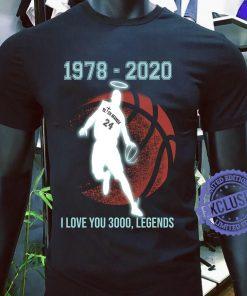 1978 2020 i love you 3000 legends classic t-shirt