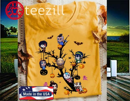 Avatar the last Airbender Chibi Tree Halloween TShirt