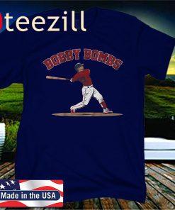 Bobby Dalbec Official T-Shirt, Bobby Bombs, Boston