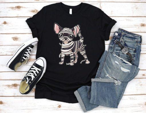 Chihuahua Mummy Shirt, Chihuahua Lover Shirt, Halloween Dog Shirt