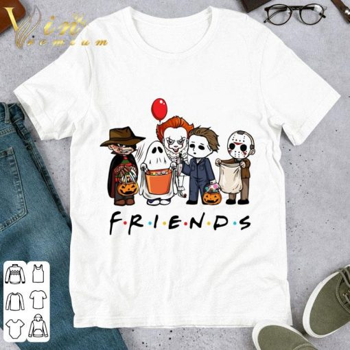 Friends mashup horror characters halloween 2020 Shirt