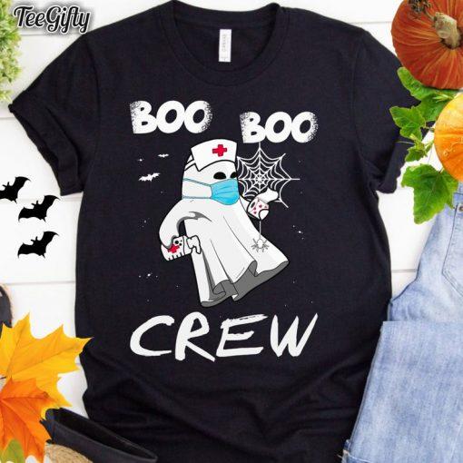 Funny Nurse Halloween, Boo Boo crew, ghost holding toilet paper, sterile ghost, Halloween nurse, boo nurse ghost shirt