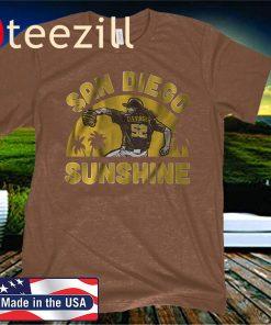 Mike Clevinger San Diego Sunshine T-Shirt