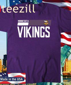Minnesota Vikings Court Purple Legend T-Shirt