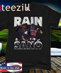 Rain & Sanó Official T-Shirt, Minnesota Baseball