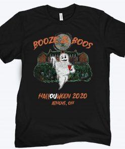 BOOZE & BOOS HALLOWEEN 2020 ATHENS OH SHIRT