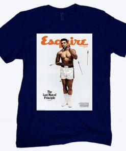 Muhammad Ali's 1968 'Esquire' The Last Man Of Principle T-Shirt