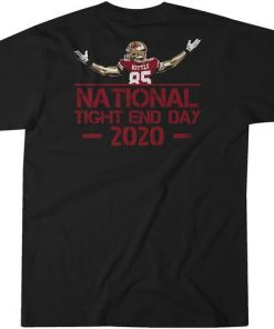 National Tight End Day 2020 T-Shirt - George Kittle