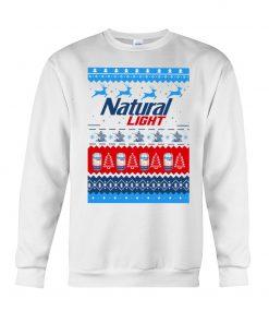 Natural Light Ugly Christmas Sweatshirt
