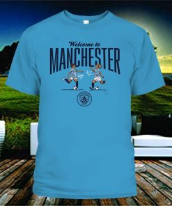 Lavelle & Mewis Welcome to Manchester City Tee Shirt