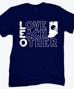 Love Each Other Tee Shirt, Bloomington, IN - CFB