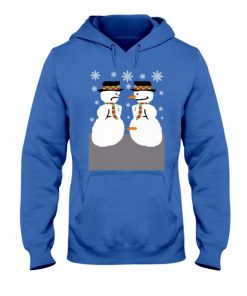 2020 Snowman Nose Thief Ugly Christmas Hoodies Tee
