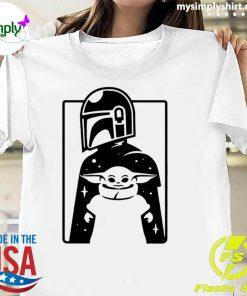 Minimal Mando And Grogu The Mandalorian Baby Yoda Classic T-Shirt
