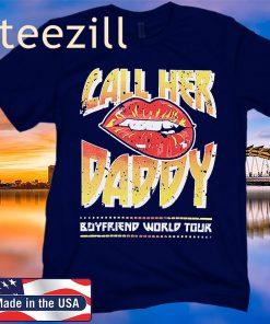 BOYFRIEND WORLD TOUR CROPPED SHIRT