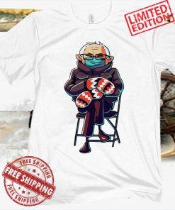 Bernie Sanders Inauguration Mittens Tee Shirt