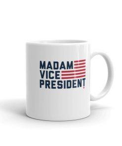 MVP: MADAM VICE PRESIDENT WHITE MUG