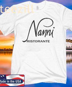 NANNI RISTORANTE TEE SHIRT