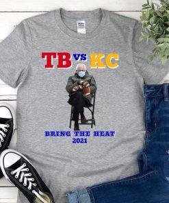 Tampa Bay, Kansas City, Bernie Sanders Mittens, Superbowl, Football, NFL, Trending Unisex T-shirt, Team Shirt, 2021 Superbowl